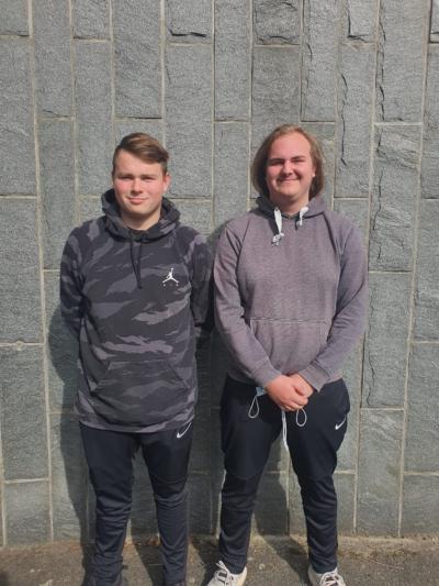 Klasse 10a: Elias und Jan