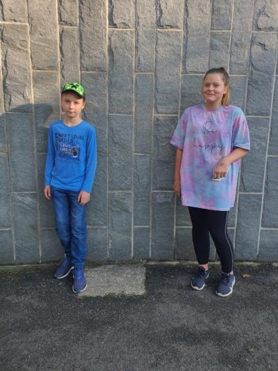 Klasse 5a: Dominik und Miley
