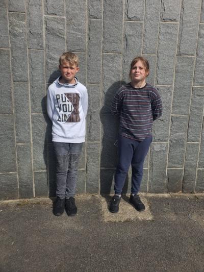 Klasse 5b: Jan und Thorin
