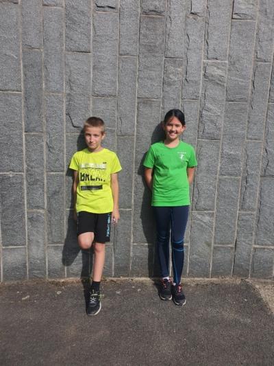 Klasse 6a: Luca und Ann-Sophie