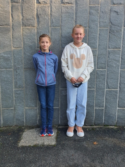 Klasse 6b: Franziska und Mia
