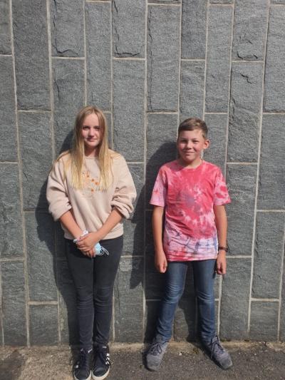 Klasse 7b: Lene und Lukas